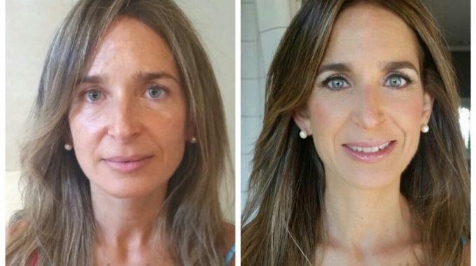Maquillaje: Antes Y Después