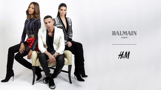 Balmain X H&M, La Nueva Apuesta De Low Cost
