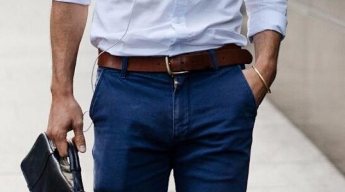 Los Hombres Y Sus Cinturones
