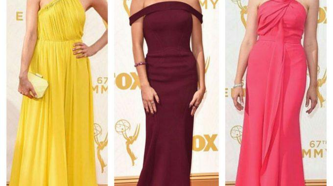 Emmys 2015: Las Mejores Vestidas De La Alfombra Roja