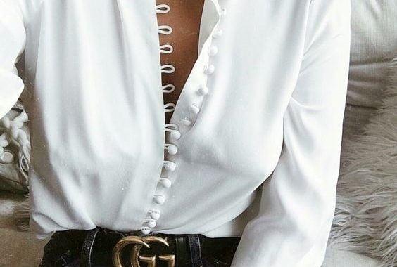 Por Qué Una Blusa Blanca Nunca Debe Faltar En Tu Clóset